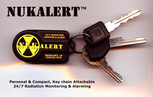 Nuk Alert Key Ring Radiation Alarm