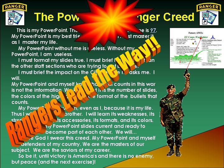 PowerPoint Ranger